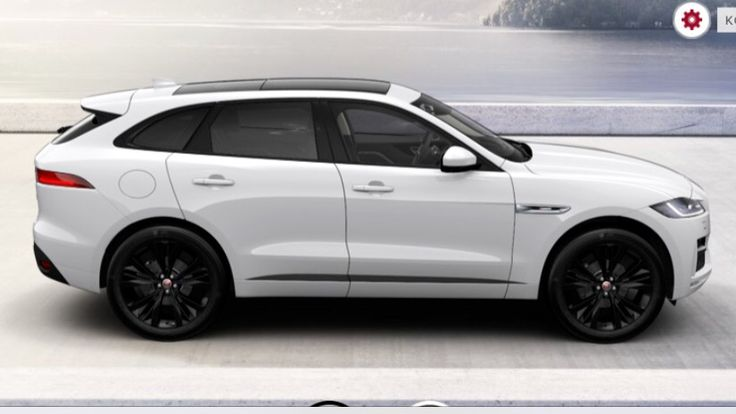 Jaguar F-Pace can't wait til' mine arrives! Same exact one! Wit red break calipers