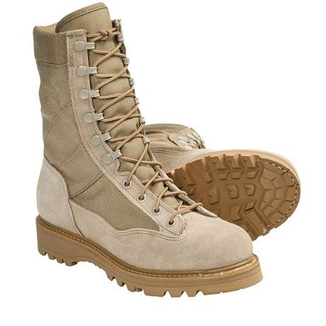 "Corcoran Army Desert Combat Boots - 9"" (For Women) in Desert Tan"