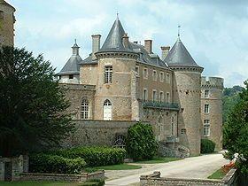 Château de Chastellux,situé à Chastellux-sur-Cure dans l'Yonne, en Bourgogne, France.