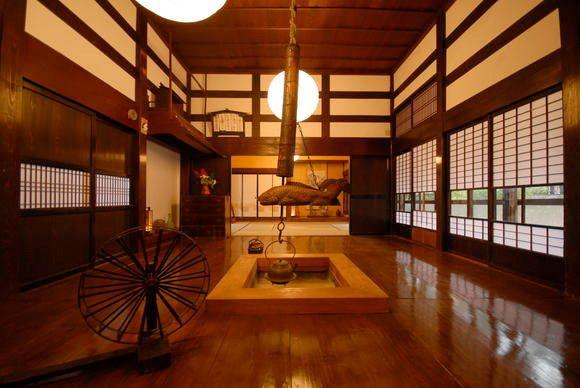 日本家屋、囲炉裏