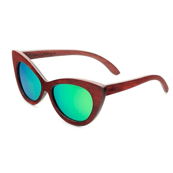 Cascade - Women's Vintage Bamboo Sunglasses