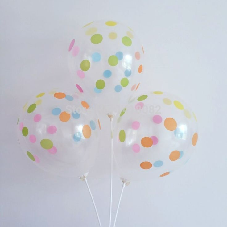 50pcs/lot 12 inch Clear Stars & polka dot Romatic Transparent Latex Balloons Helium Ball For Birthday Wedding Party Decor