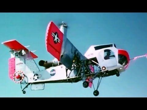 "VZ-2 VTOL Aircraft: ""Flight Tests of US Army VZ-2"" 1960 NASA Langley Reseach Center: http://youtu.be/xluZ74K5818 #VTOL #aviation #Langley"