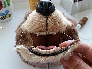 Как сделать зубки для тедди - Джемма Кадж (JemmaK) - Ярмарка Мастеров http://www.livemaster.ru/topic/1214029-kak-sdelat-zubki-dlya-teddi