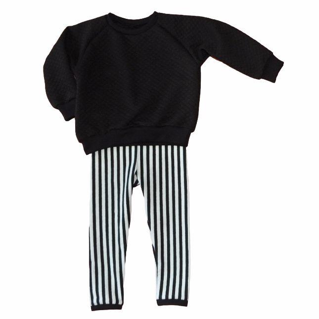 Quilt & stripe set