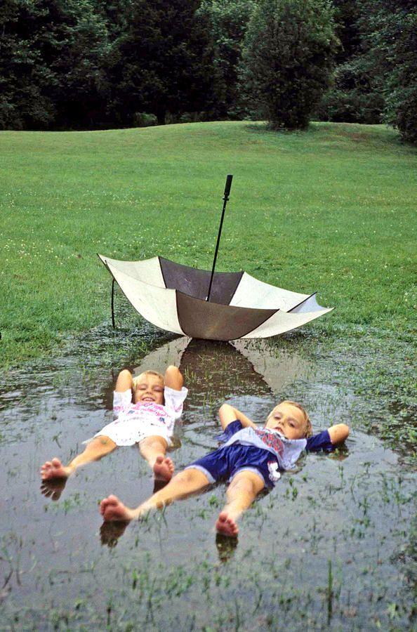 Love A Rainy Day Series Photograph  - Love A Rainy Day Series Fine Art Print, Laurie Paci