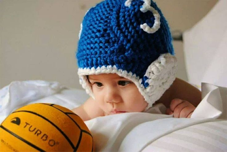Mini player waterpolo knitted cap