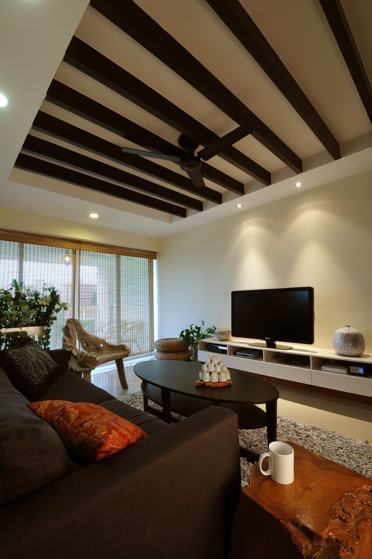 3 Room Hdb Interior Design Ideas: Balinese Interior, Home Living Room