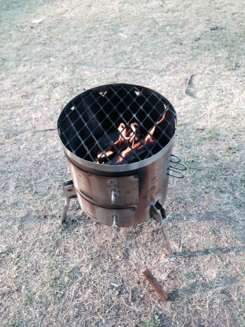 #Campfire and the #PotjieKing at #CattaiNationalPark