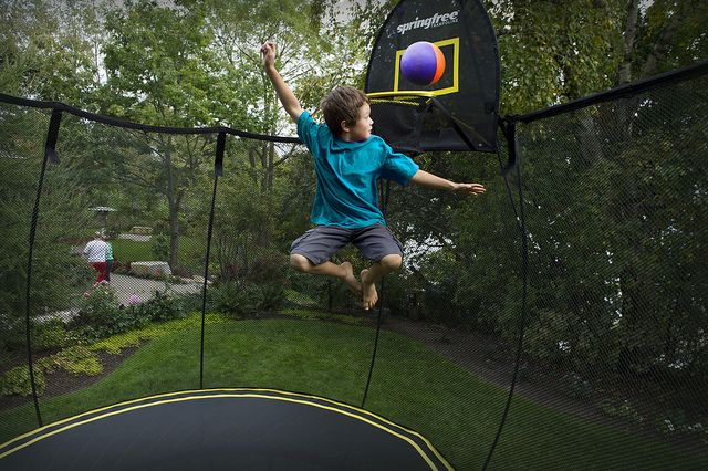 Springfree Springless Tampolines: Voted #1 trampoline by Parenting Pod!  Check out their review here: https://parentingpod.com/springfree-springless-trampoline-review/