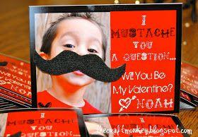 Craft Monkey: {Mustache Valentine Tutorial}