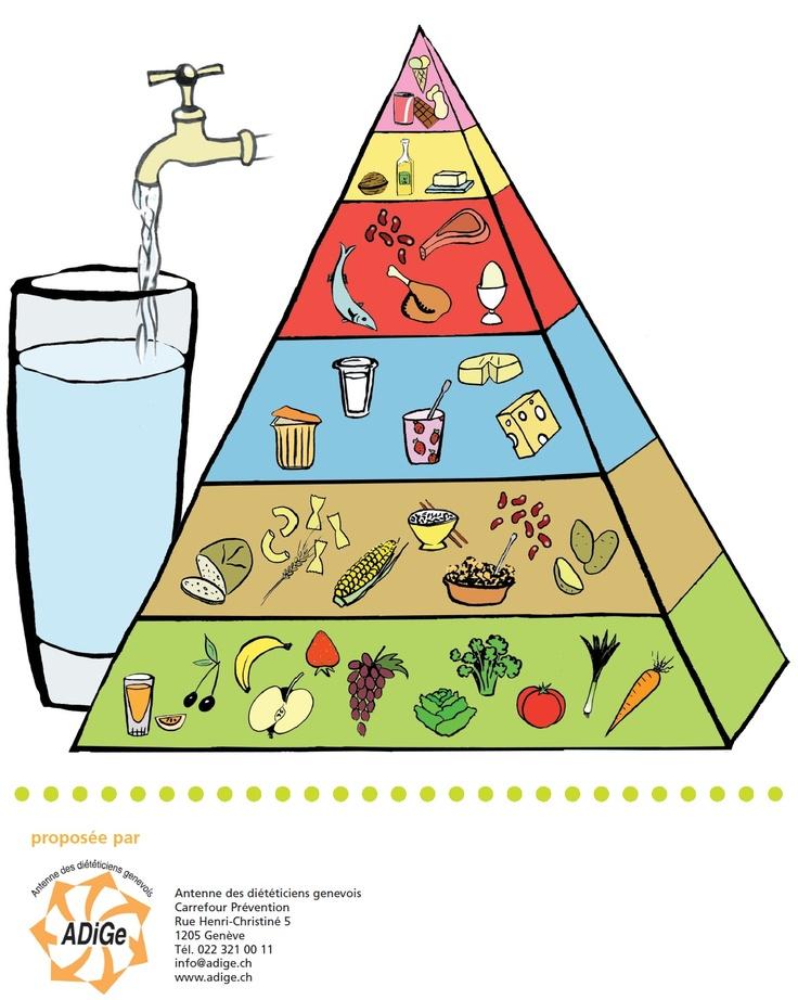 Bien connu Les 25 meilleures idées de la catégorie Pyramide alimentaire sur  SY99