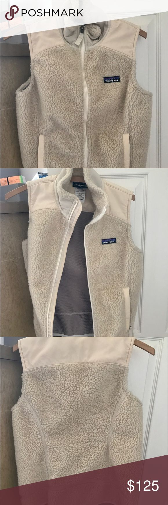 Patagonia Women's Retro X Vest size S Cute and comfortable white Patagonia retro x vest in women's S! Worn twice, perfect condition! Patagonia Jackets & Coats Vests