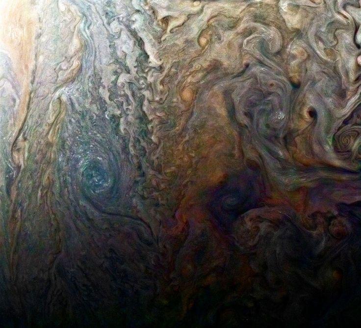 Облака Юпитера. «Джуно» пролетел вблизи поверхности газового гиганта — Meduza
