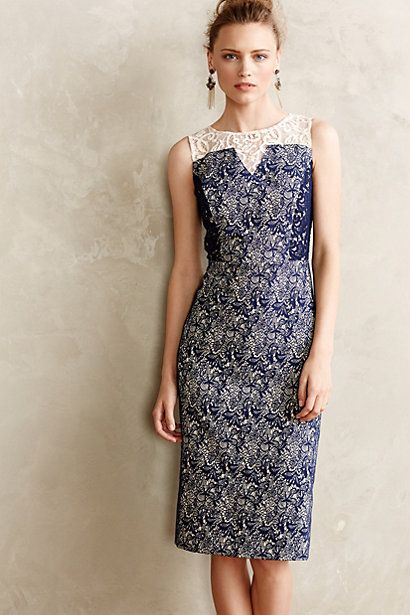 Alcina Pencil Dress #anthropologie