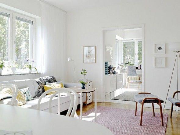 scandanavian design decor   Stunning Interior Design Scandinavian Apartment