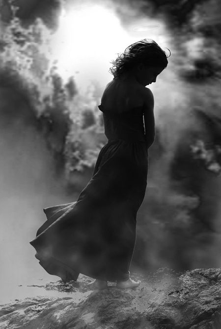 """""""All the books of the world full of thoughts and poems are nothing in comparison to a minute of sobbing, when feeling surges in waves, the soul feels itself profoundly and finds itself.... All angels are close to the crying person."""" 