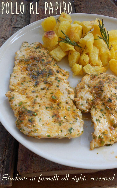 pollo al papiro come fare a casa ricetta pollo speziato in padella o al forno