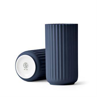 Lyngby vase midnight blue matte / Lyngby Porslin