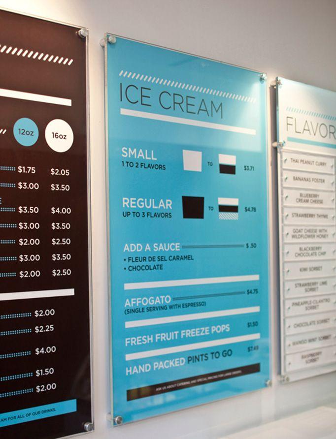 Glacé Ice Cream Branding