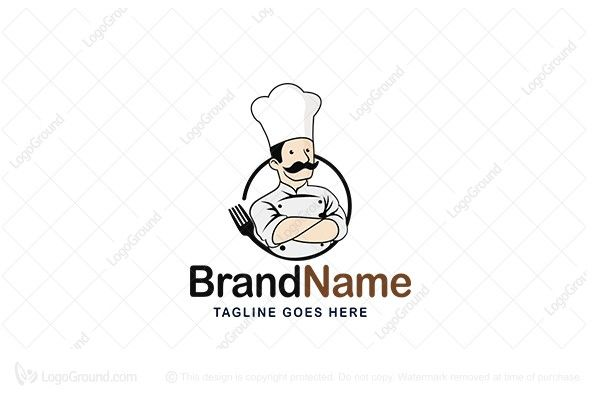 Logo for sale: Chef Cooker  Logo