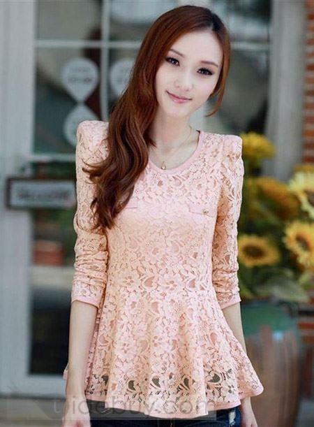 #stunning  #neckline #lace #blouse