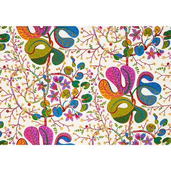Original Josef Frank 100% linen fabric. This linen fabric is the heaviest weight of all Josef Frank fabrics and is perfectly suited for upholstery or