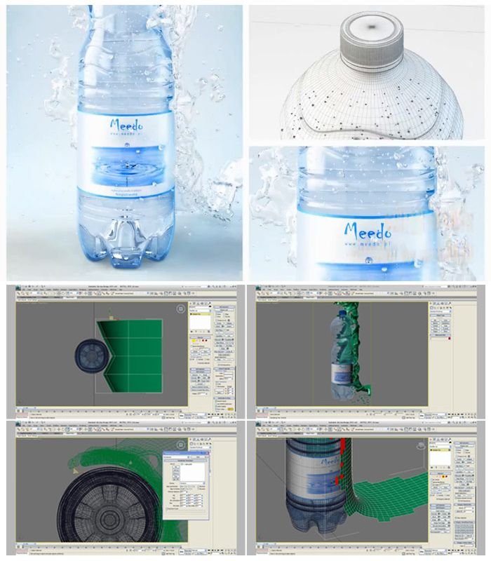 Creating a Realistic Water Splash in 3ds Max & V-Ray By Meedo