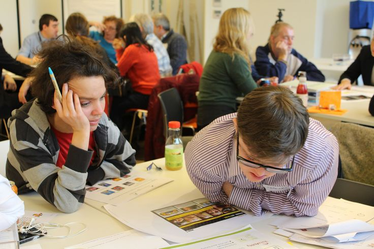 Photos taken at workshop with Mencap for the learning disabilities campaign.