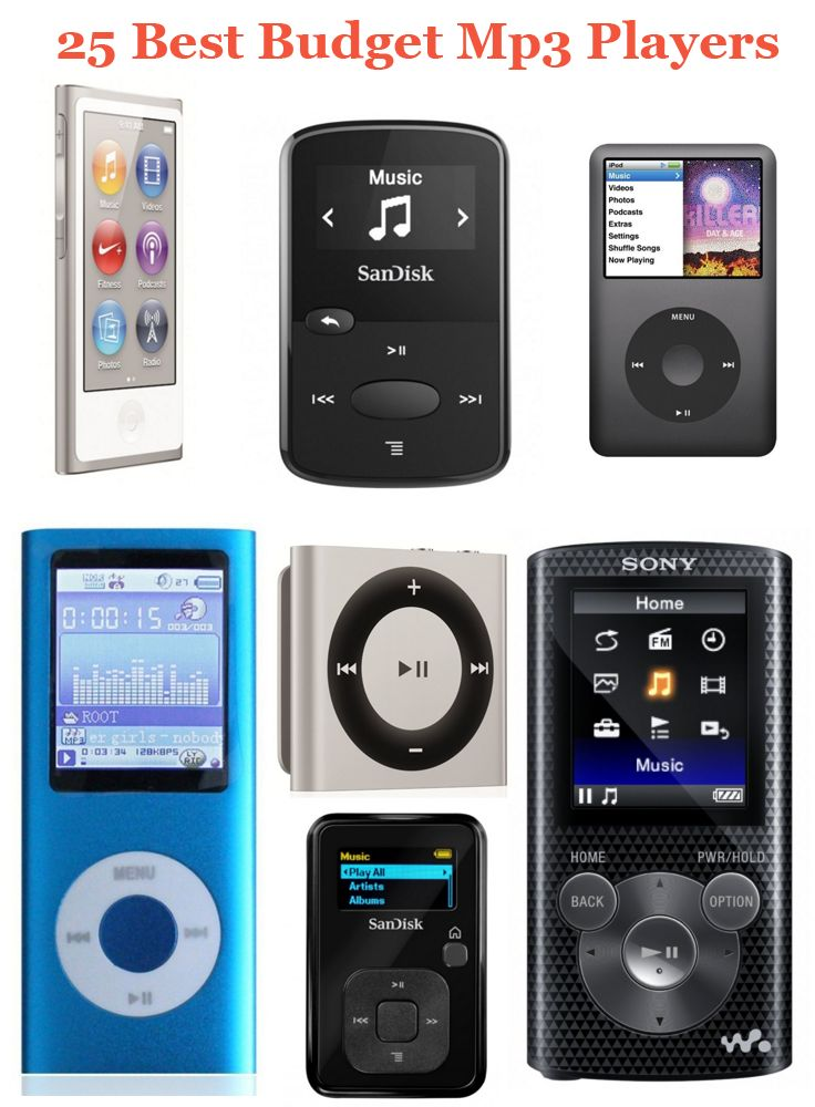 Finding the best Mp3 player for listening music while traveling ? Check out the 25 best Budget Mp3 Players 2016 including Ipod Nano, Kubik Evo and more.