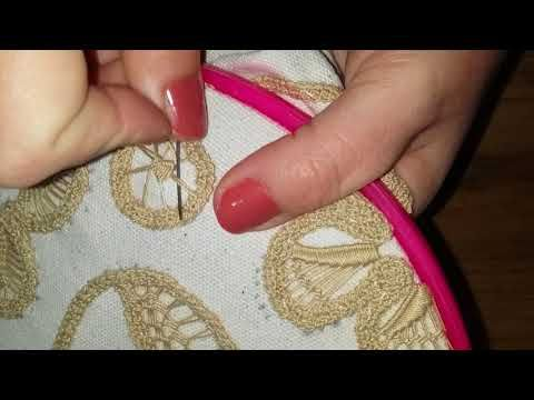 Dantelanglez , romanian point lace - YouTube