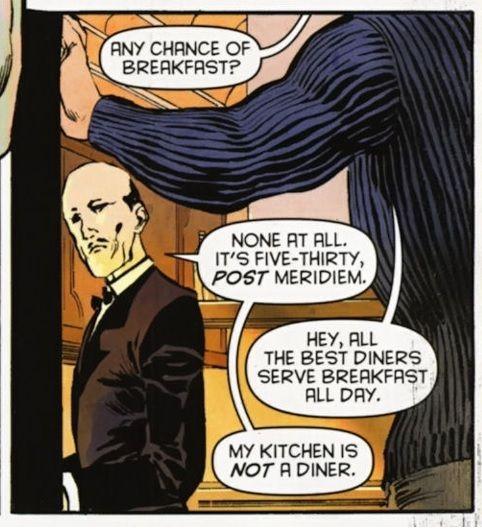"yellowcape: "" - Batman 709 Sassy, Alfred. """