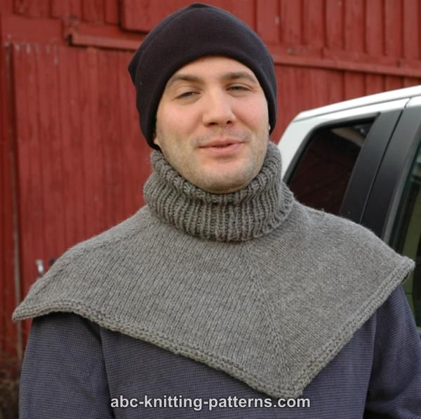 ABC Knitting Patterns - Biker's Cowl / Dickie