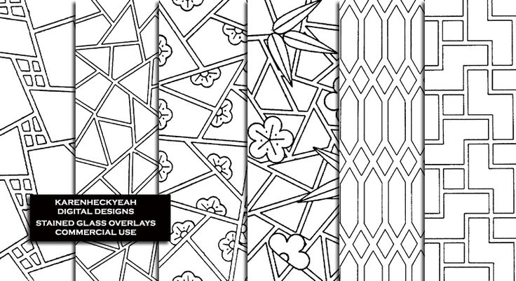 Stained Glass Overlays - CU