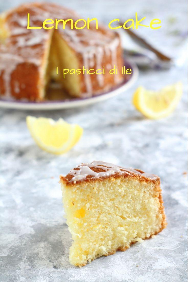 Lemon Cake Deliziosa Torta Al Limone Molto Sofficepreparazione Con