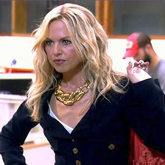 Who made Rachel Zoe's jacket and jeans that she wore on the Rachel Zoe project episode 5: Meltdown?