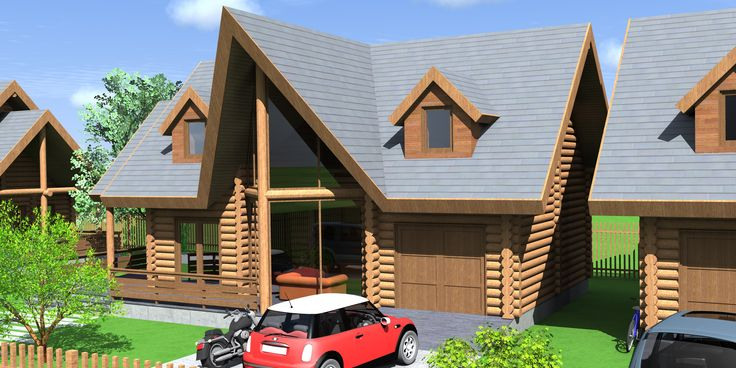 Wooden Lodges - Chalet Predeal, Romania by NOVELTY AE. More on www.nvty.ro