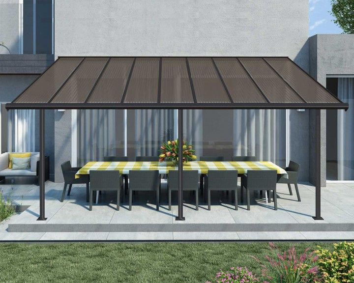Sierra Palram Outdoor Dreams Made Real In 2020 Aluminum Patio Covers Gray Patio Furniture Pergola With Roof