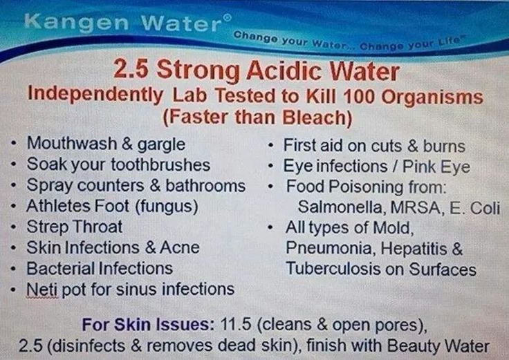 2.5 Strong Acidic Kangen Water Uses!! Amazing that it kills better then bleach and is NONTOXIC!!