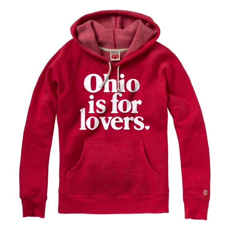 HOMAGE #Ohio is for Lovers Hoodie Fleece Sweatshirt - $65.00