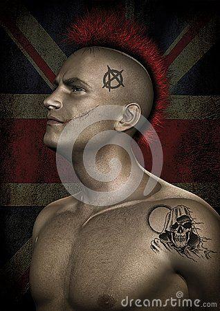 Portrait of a Punk Guy