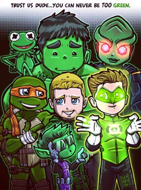 Go Green by Lord Mesa