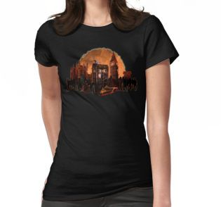 time and space traveller trapped in the zombie land Womens Fitted T-Shirts #WomensFitted #tee #tshirt #clothing #dontblink #statue #angel #spring #winter #fall #autumn #davidtennant #10thdoctor #fog #mist #doctorwho #tardis #starrynight #vangogh #halloween #summer #aztec #mayan #native #mayansimbols #dreamcatcher #residentevil #zombie #zombies #horror #scarred #scarry