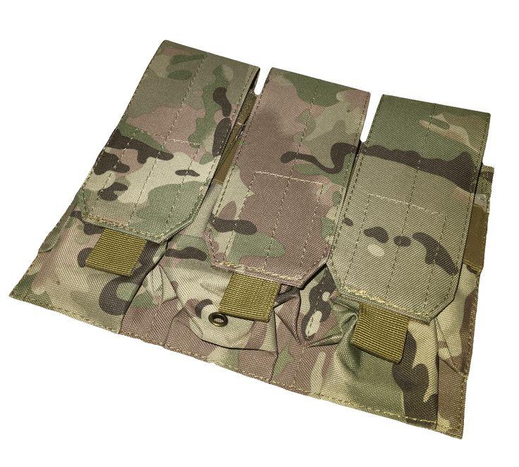 Triple M4 MOLLE MAG Pouch - Multicam®