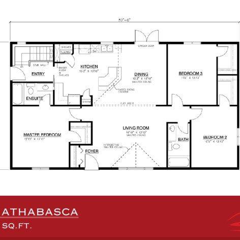Alberta modular home floor plans