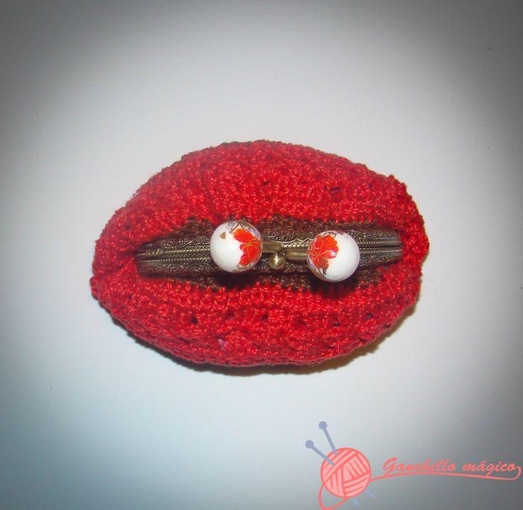 122 best Monederos en ganchillo images on Pinterest   Crocheted bags ...