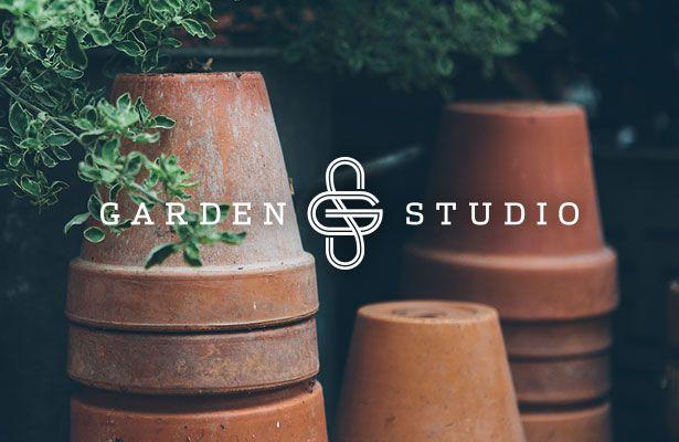garden studio landscape design logo