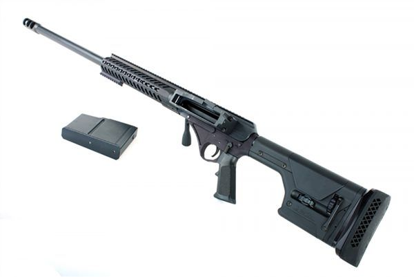 McCutchen Firearms released two .50 BMG upper receiver assemblies for AR-15s, featuring the proprietary Mechanically-Assisted Pin Safety (M.A.P.S.) system.