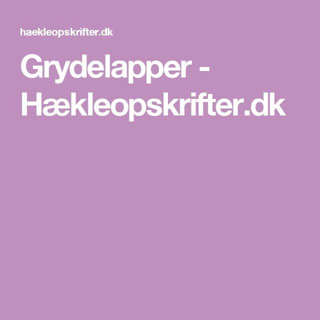 Grydelapper - Hækleopskrifter.dk