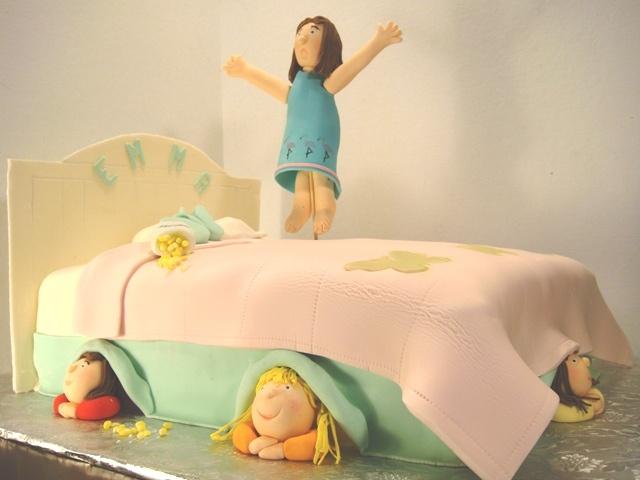 pyjama party cake